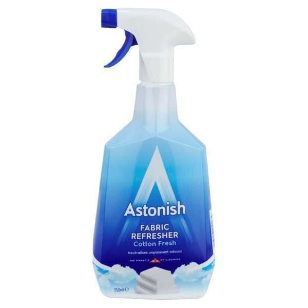 ASTONISH Audumu atsvaidzinātājs un aromātu likvidētājs 750ml
