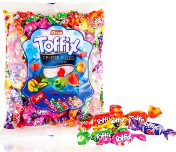 Elvan Toffix  Augļu pildītas mīkstās konfektes 1kg