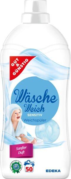 G&G WASCHE Weich Sensitive Veļas mīkstinātājs 1.5 L