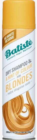 BATISTE Sausais šampūns blondiem matiem 200ml