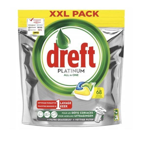 DREFT Trauku mazgāšanas kapsulas 68 gb