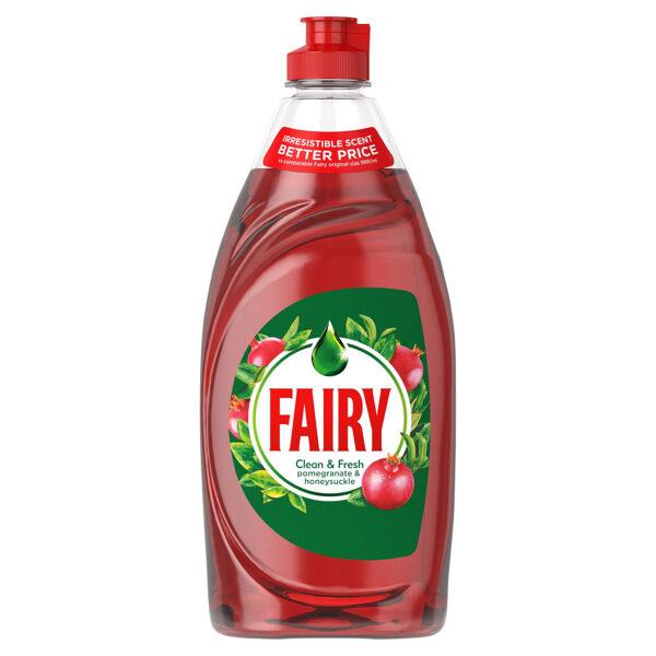 FAIRY Trauku mazgāšanas līdzeklis ar granātābola un sausserža aromātu 520 ml