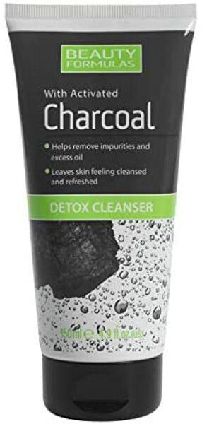 BEAUTY FORMULAS Ogles detoksikācijas sejas mazgāšanas līdzeklis 150 ml