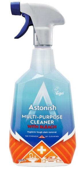 ASTONISH  Tīrīšanas līdzeklis ar balinātāju 750 ml