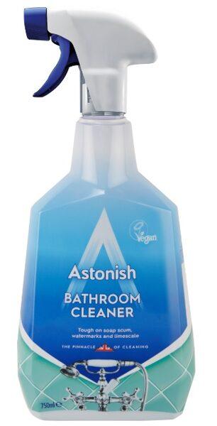 ASTONISH  Līdzeklis vannas istabas tīrīšanai 750 ml