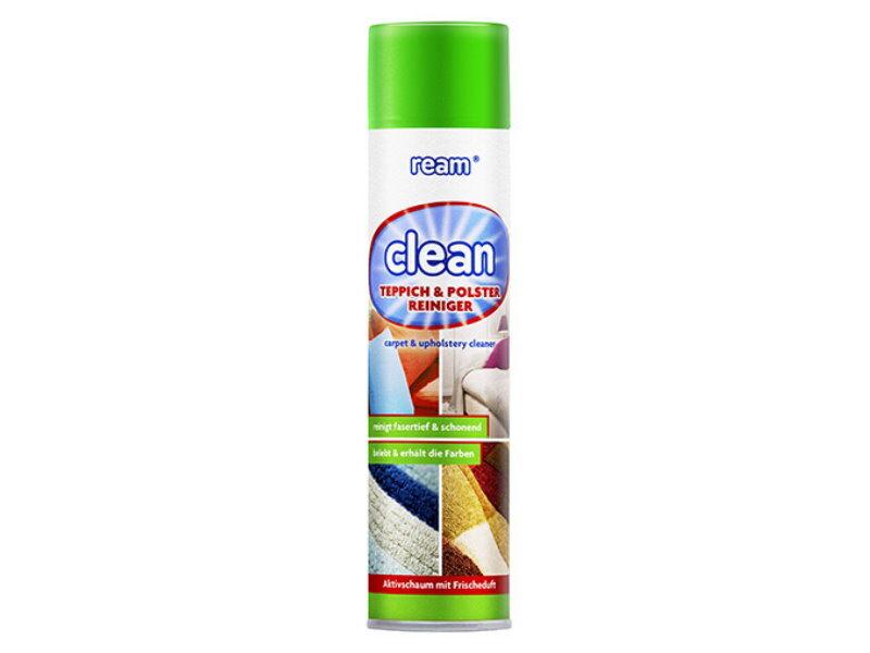 REAM CLEAN Paklāju un mīksto mēbeļu tīrīšanas putas 600 ml