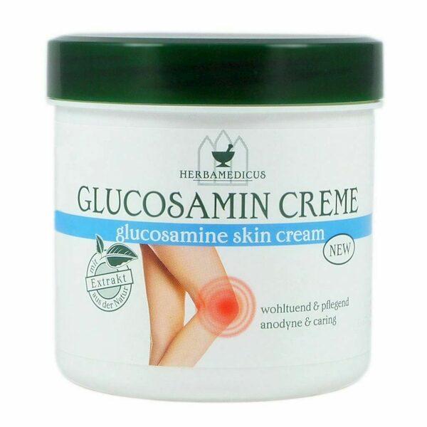 HERBAMEDICUS Glukozamīna krēms 250 ml